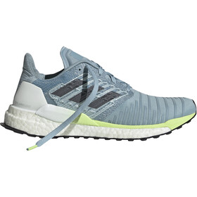 adidas Solar Boost Løbesko Damer, ash grey/onix/hi-res yellow